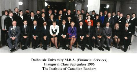 Dalhousie Mba Financial Services by A Major Anniversary For The Mba Financial Services