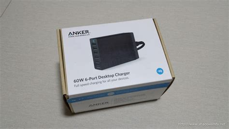 anker 60w 6 family sized desktop usb charger and anker 60w 6 desktop usb charger