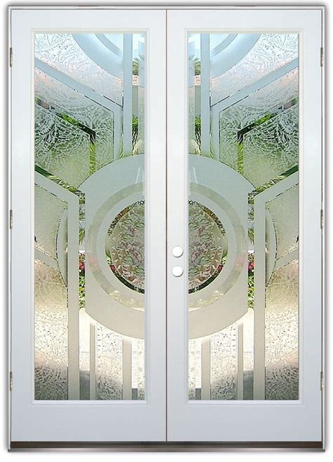 137 Best Images About Double Entry Doors Frosted Glass Front Door Frosted Glass