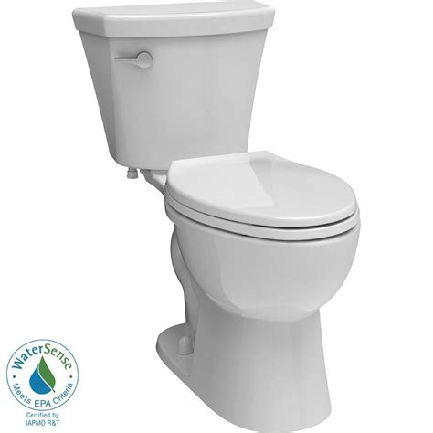 delta toilets turner 2 1 28 gpf elongated toilet in