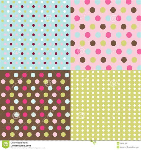 dot pattern photography seamless patterns polka dot set stock photography image
