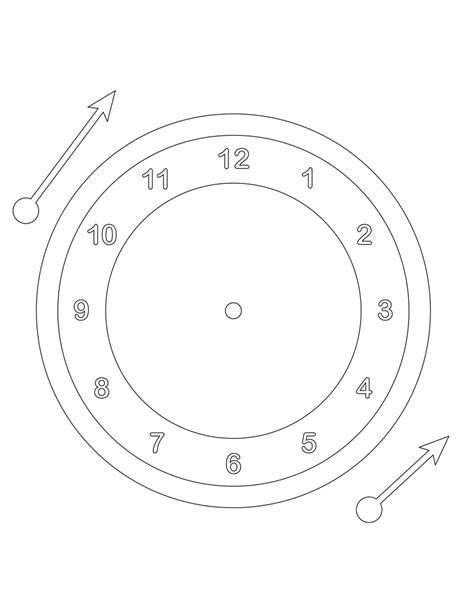 clock template corel clock template tim s printables