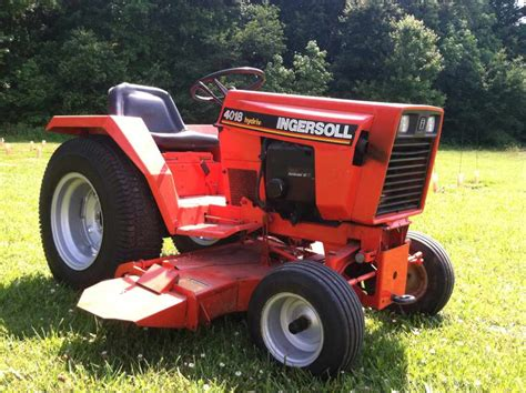 Ingersoll Garden Tractor by Ingersoll 4018 Is Coming Home Tomorrow Colt