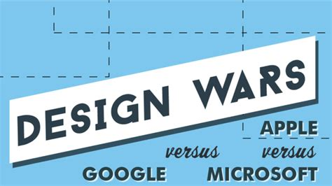 material design google vs apple design wars apple vs google vs microsoft