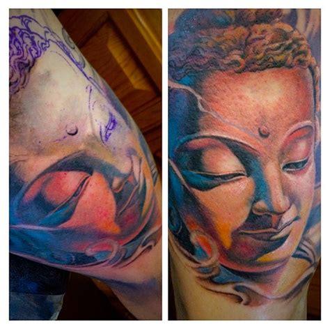 roly tattoo quilmes instagram realistic buddha portrait by roly viruez tattoonow