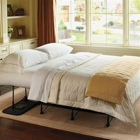 ez bed double automatic inflatable bed  storage