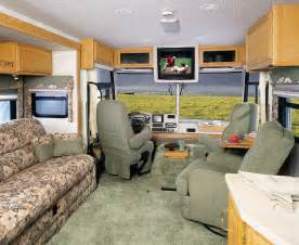 motor home interiors motorhome interior monty s rv cing pictures