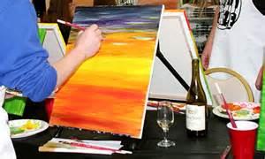 canvas painting classes near me canvas painting class paint craze groupon