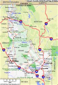 map of idaho idaho mountain weather