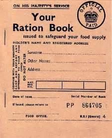 ration book food sentimental journey online store