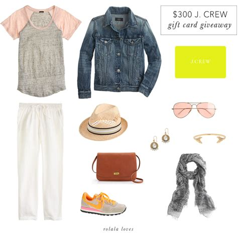 J Crew Gift Cards - j crew gift card giveaway rolala loves