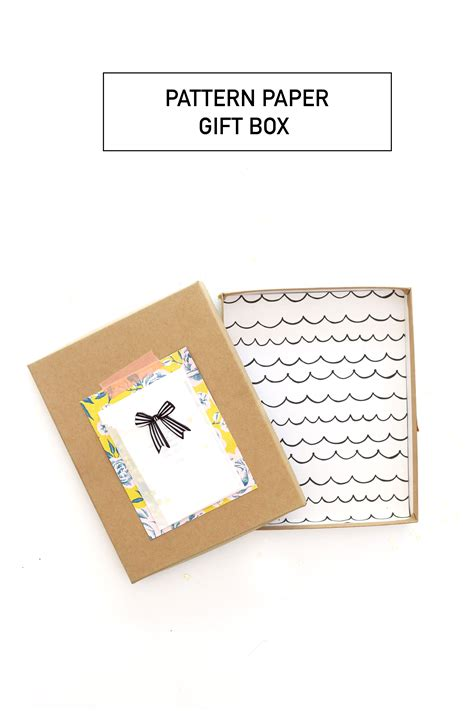 pattern for paper gift box pattern paper gift box 187 be crafty