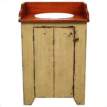 primitive bathroom vanity pin by mommas little piggies on for the home pinterest