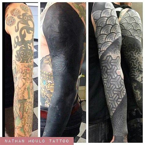 tattoo cover up with white ink 17 best ideas about black tattoo cover up on pinterest