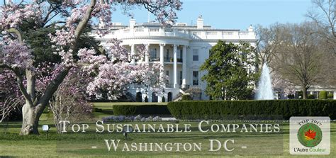 Top Mba Employers Washington Dc by Top Sustainable Companies In Washington Dc