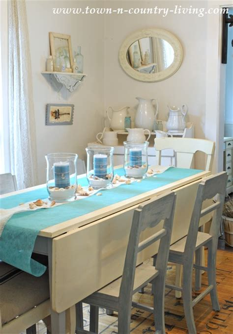 Kitchen Centerpiece Ideas How To Create A Summer Coastal Centerpiece Town