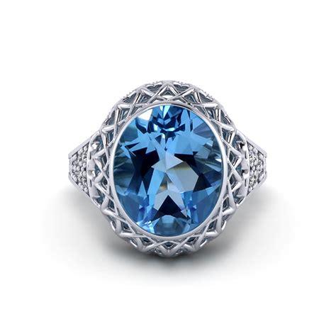 filigree gemstone ring jewelry designs
