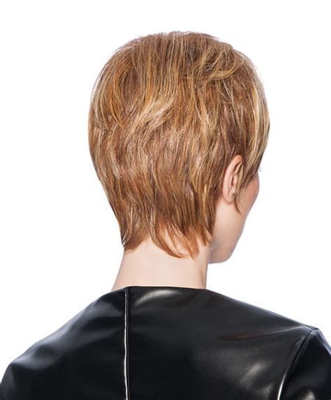 layered feathered back hair short hairstyle 2013 hair cut feather back stacked feathered bob haircut back