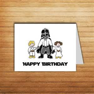 printable wars birthday card darth vader by enjoyprintable