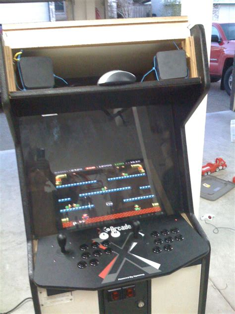 building an arcade cabinet building your own arcade cabinet for geeks part 2 the monitor hanselman