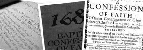 the second baptist confession of 1689