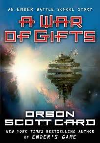 enders book report fiction book review a war of gifts an ender story by