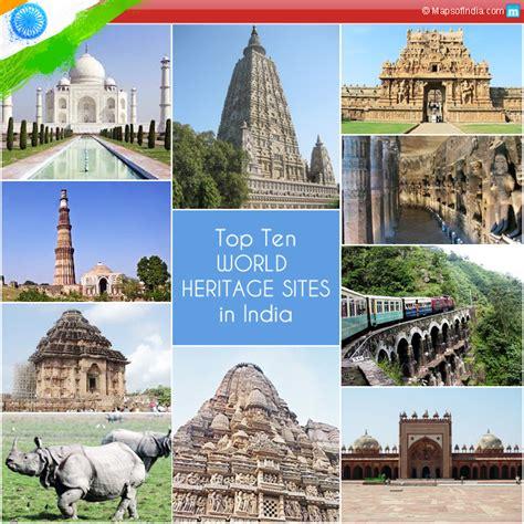 top  world heritage sites  india  india