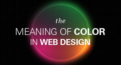 design website meaning the meaning of color in web design 187 veodesign