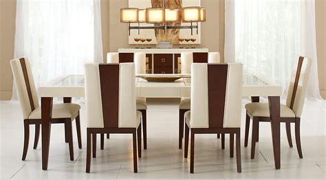 living room dining table sofia vergara savona ivory 5 pc rectangle dining room