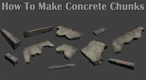 3ds max quickly large scale rubble tutorial