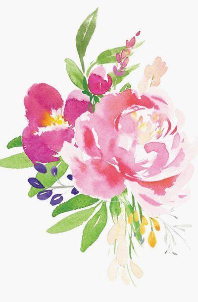 best 25 watercolor flowers ideas on pinterest flower