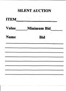 auction forms templates silent auction template search results calendar 2015