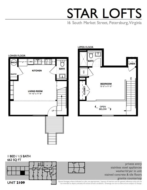 Small Loft Apartment Floor Plan | apartments star lofts loft style apartment floor plan