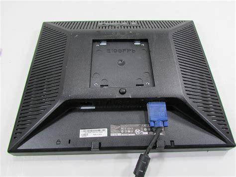 dell 19 monitor flat panel dimensions dell 19 quot e198fpb lcd flat screen computer monitor panel ebay