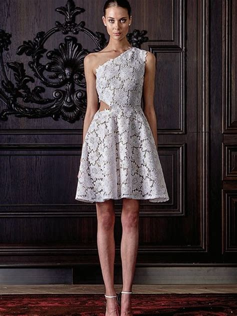 Hochzeitskleider 2016 Spitze by Hochzeitskleider 2016 Kurzes Asymmetrisches Kleid Aus