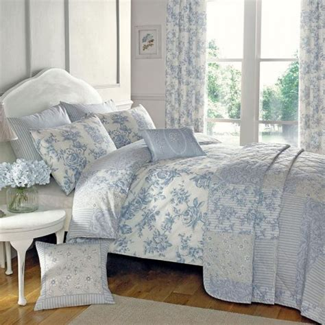 dreams drapes malton patchwork floral bed throw in