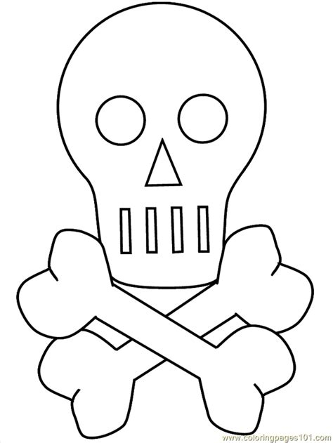 cartoon skull coloring page coloring pages skull cartoons gt miscellaneous free