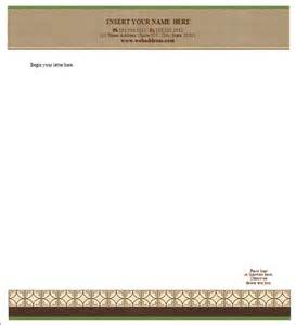 letterhead templates sle letterhead template 42 free documents in pdf