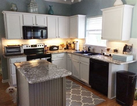 Dovetail Kitchen Cabinets White Cabinets With Dovetail Gray Island 2 Cabinet