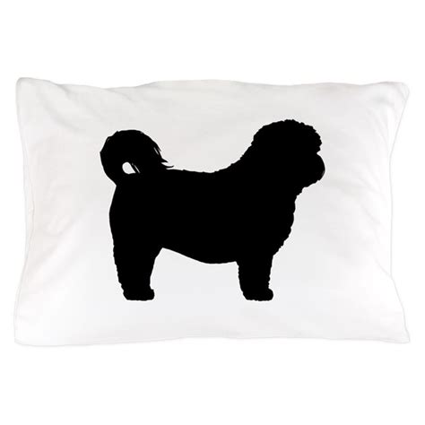 shih tzu silhouette shih tzu silhouette pillow by mytreat