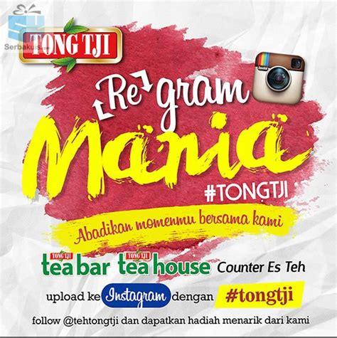 Teh Tong Tji Di Indo regram mania