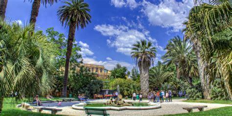 giardini botanici roma the orto botanico botanical gardens in rome s trastevere