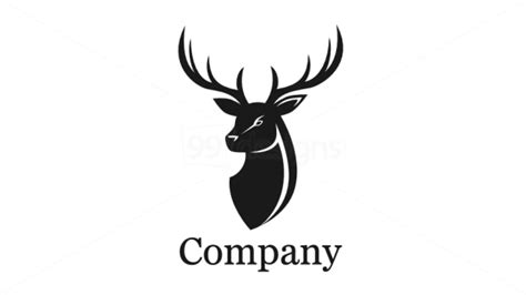 Deer Head deer logo cliparts co