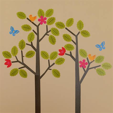 tree of wall sticker tree wall decals roundup project nursery