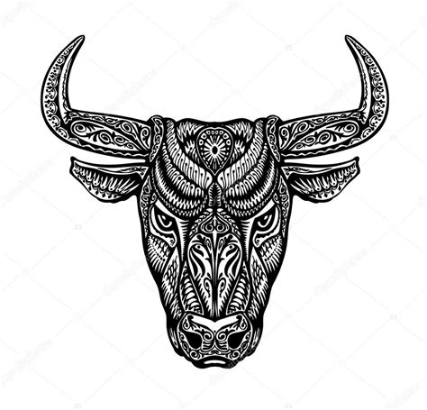 toro tauro b 250 falo pintado adornos 233 tnicos tribales
