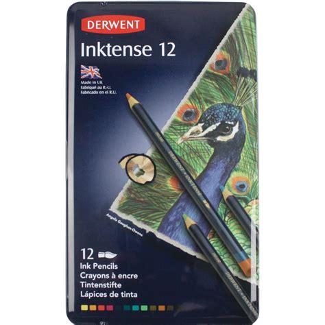 Derwent Inktense Pencil Isi 12 buy derwent inktense 12 pencil tin set