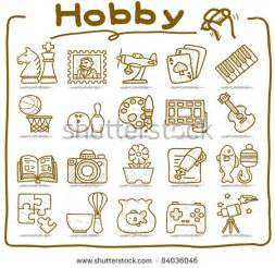 hobby icons stock photos images amp pictures shutterstock