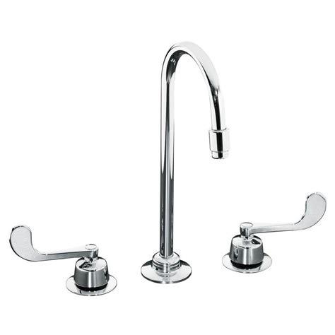Kohler Commercial Faucet by Kohler Triton 8 In Widespread 2 Handle Mid Arc Spout