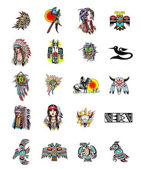 native american tattoo designs and meanings american tattoos and meanings