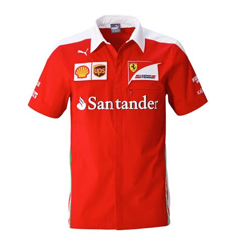 new year shirt 2016 new 2016 formula one f1 mens sf team sleeve